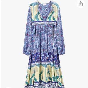 The Amazon Nightgown Dress, boho print, XL